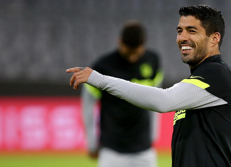 Temp: 20-21 | Entrenamiento en Múnich | Liga de Campeones | Suárez