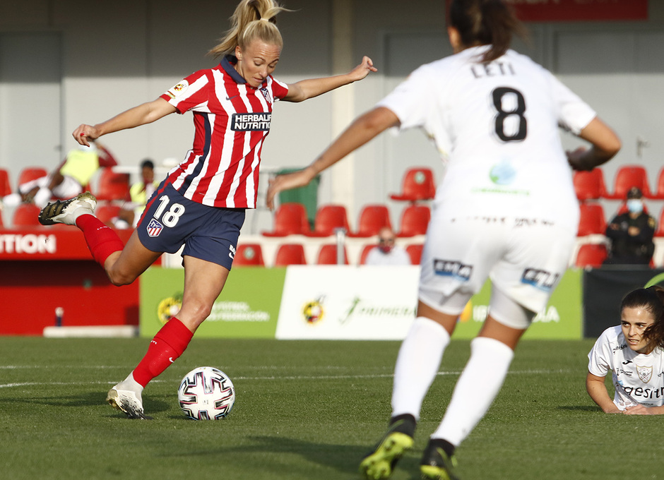 Temp. 20-21 | Atleti Femenino-Logroño | Toni Duggan