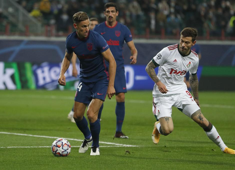 Temp. 2020-21 | Lokomotiv - Atlético de Madrid | Llorente