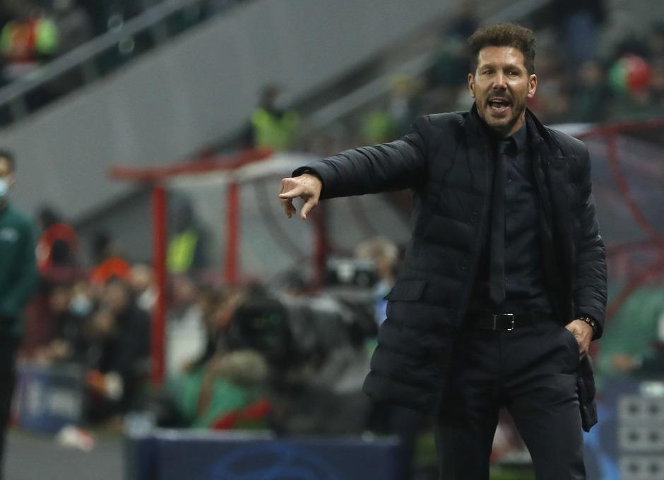 Temp. 2020-21   Lokomotiv - Atlético de Madrid   Simeone