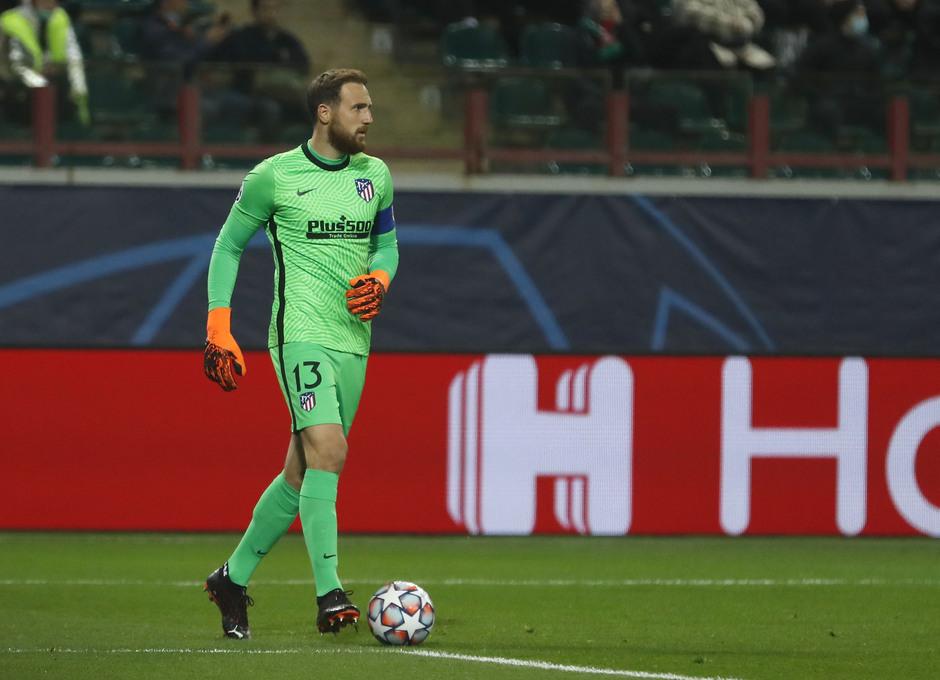 Temp. 2020-21   Lokomotiv - Atlético de Madrid   Oblak en solitario Champions