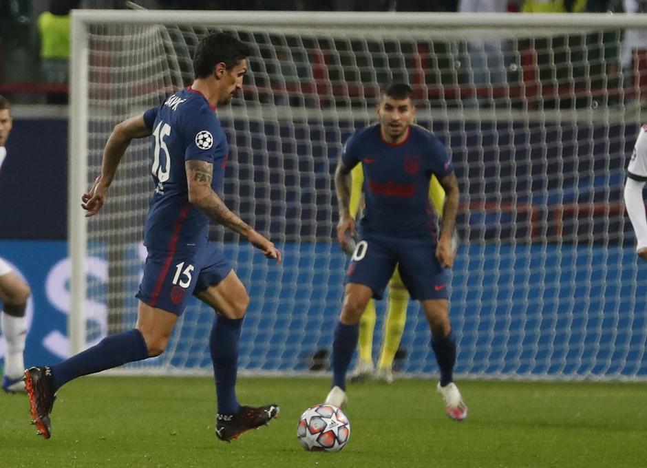 Temp. 2020-21   Lokomotiv - Atlético de Madrid   Savic
