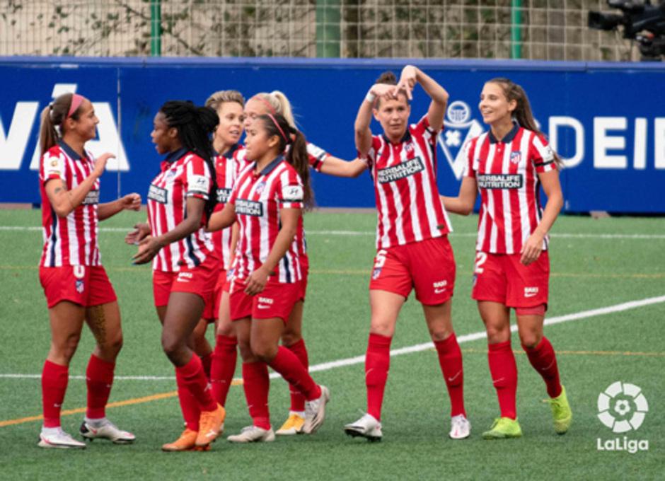 Temp. 20-21 | Eibar - Atlético de Madrid Femenino | Celebración