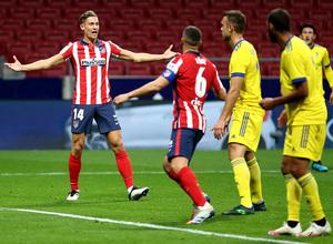 Temp. 20-21 | Atlético de Madrid - Cádiz | Celebración Llorente