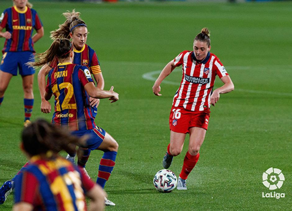 Temp. 20-21 | Barcelona-Atleti Femenino | Jade Moore