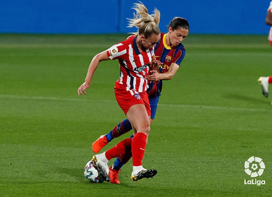 Temp. 20-21 | Barcelona-Atleti Femenino | Toni Duggan