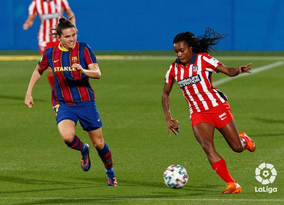 Temp. 20-21 | Barcelona-Atleti Femenino | Ludmila