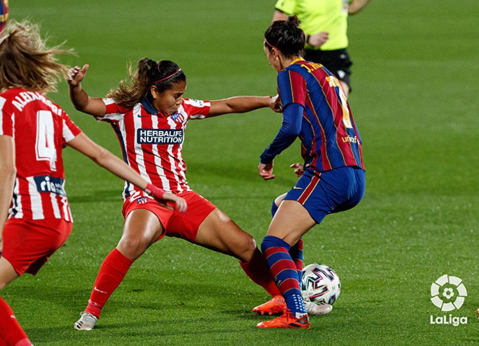 Temp. 20-21 | Barcelona-Atleti Femenino | Leicy