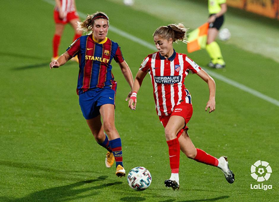 Temp. 20-21 | Barcelona-Atleti Femenino | Laia