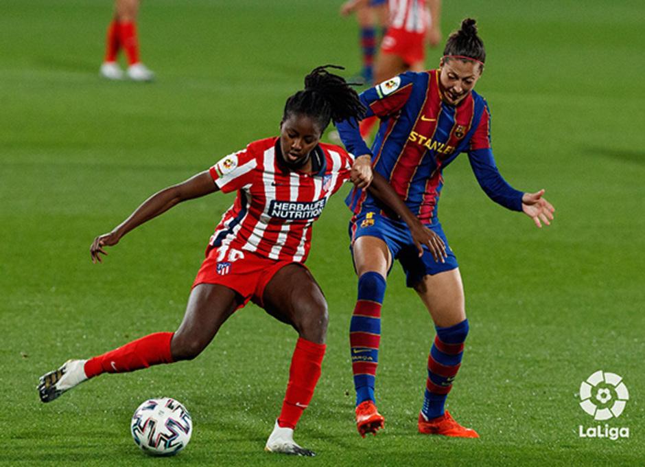 Temp. 20-21 | Barcelona-Atleti Femenino | Tounkara