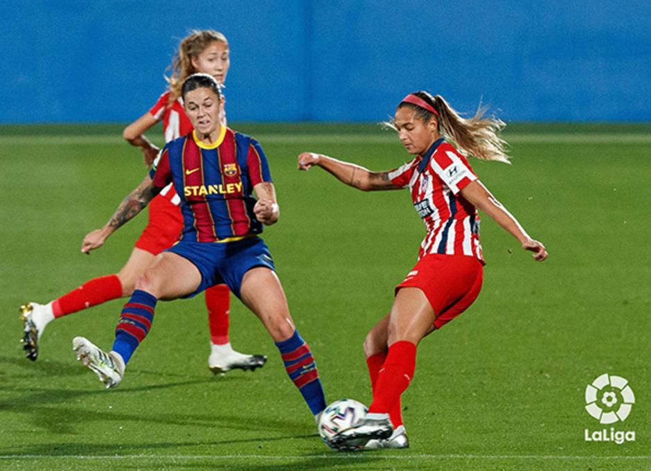 Temp. 20-21 | Barcelona-Atleti Femenino | Deyna