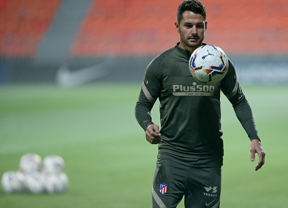 Temp. 20-21 | Entrenamiento Atlético de Madrid | Vitolo