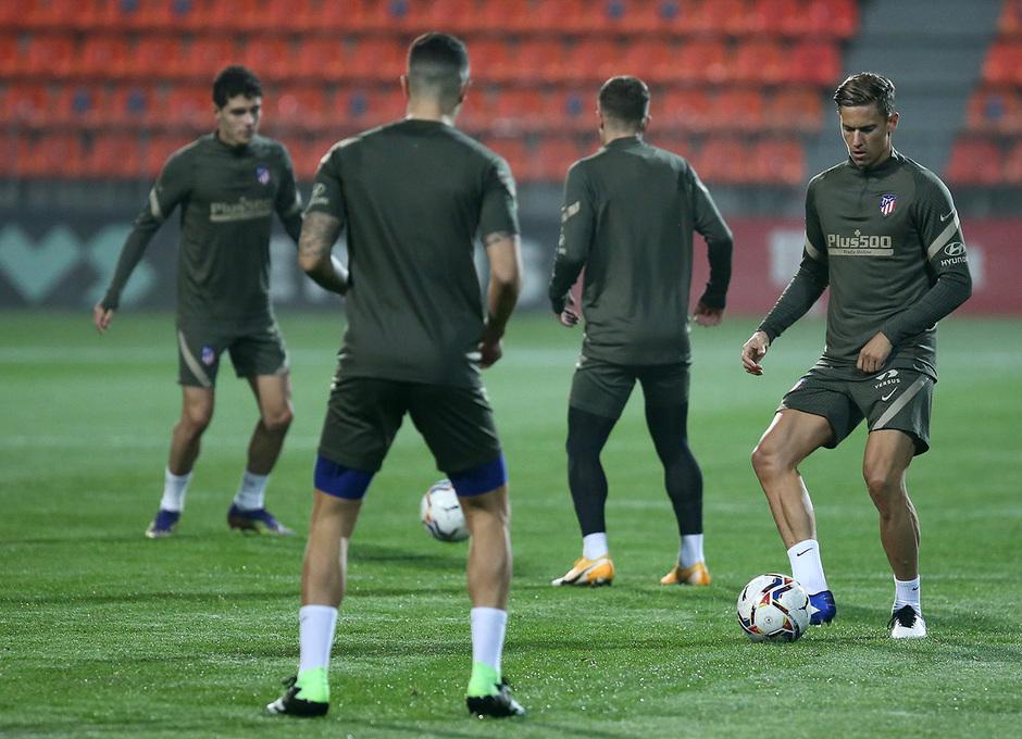 Temp. 20-21 | Entrenamiento Atlético de Madrid | Llorente