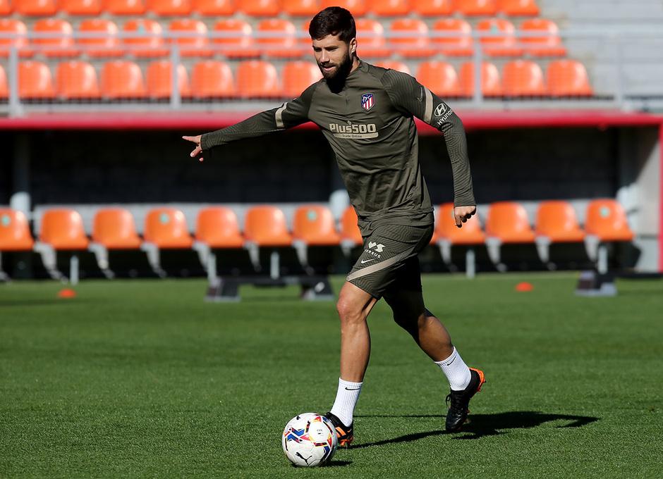 Temp. 20-21 | Entrenamiento Atlético de Madrid 20-11-2020 | Felipe