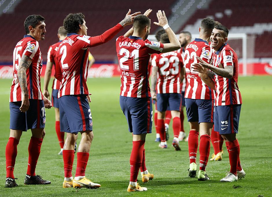 Temp. 20-21 | Atlético de Madrid - FC Barcelona | Celebración