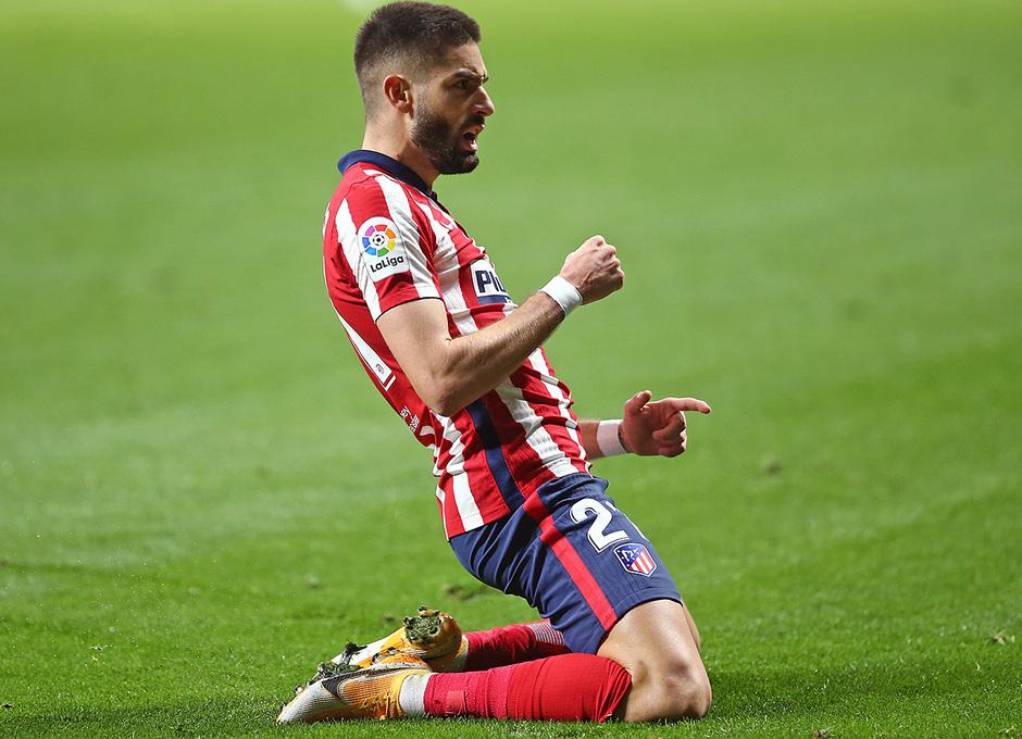 Temp. 20-21 | Atlético de Madrid - FC Barcelona | Carrasco Celebración