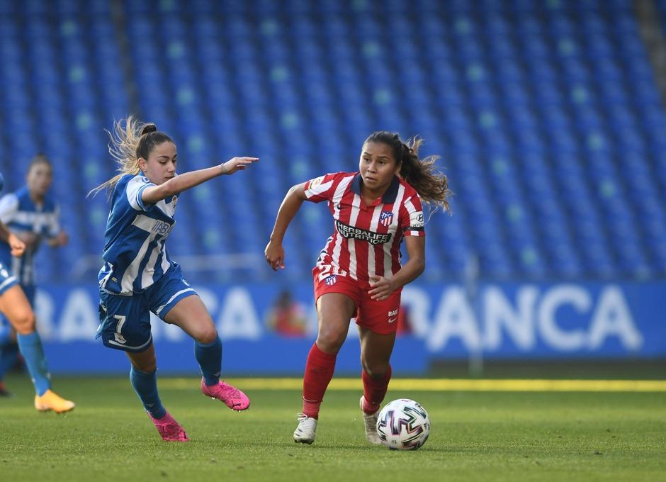 temporada 2020/21 | RC Deportivo - Atlético de Madrid Femenino | Santos