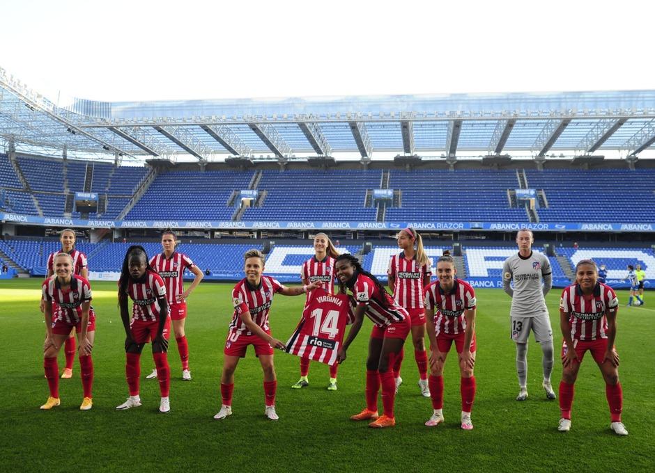 temporada 2020/21 | RC Deportivo - Atlético de Madrid Femenino | Once