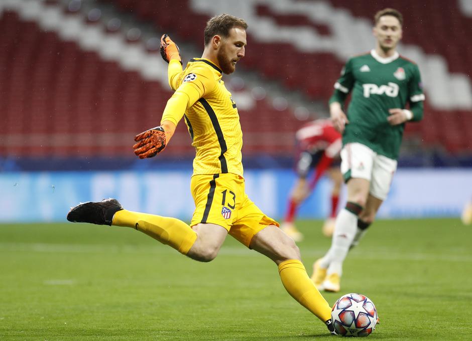 Temp. 20-21 | Atlético de Madrid - Lokomotiv | Oblak