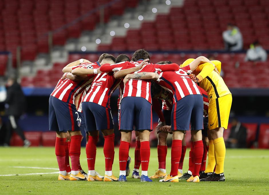 Temp. 20-21 | Atlético de Madrid - Lokomotiv | Piña