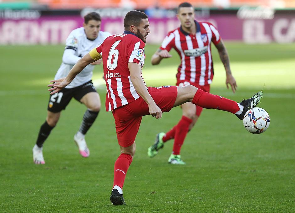 Temp. 20-21   Valencia - Atlético de Madrid   Koke