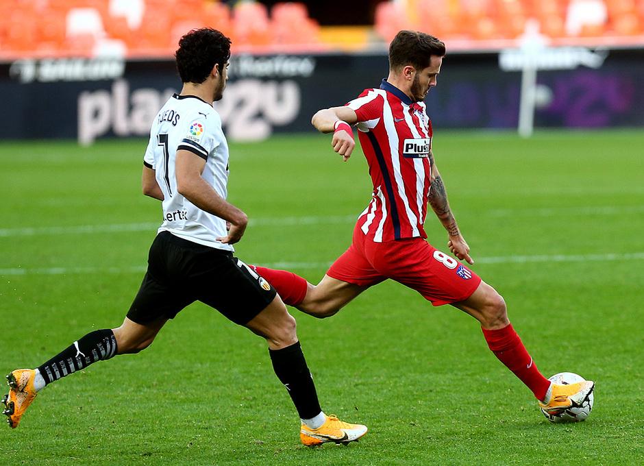Temp. 20-21   Valencia - Atlético de Madrid   Saúl