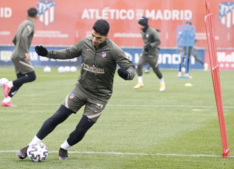 Temporada 20/21 | Entrenamiento | Suárez