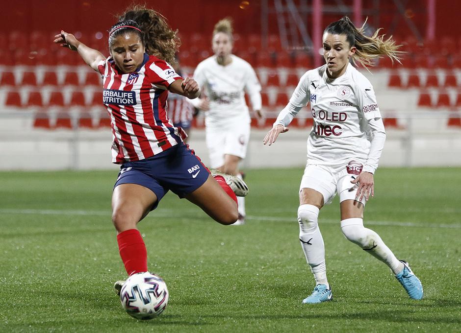 Temp. 2020/21 | Atlético Femenino-Servette | lLeicy