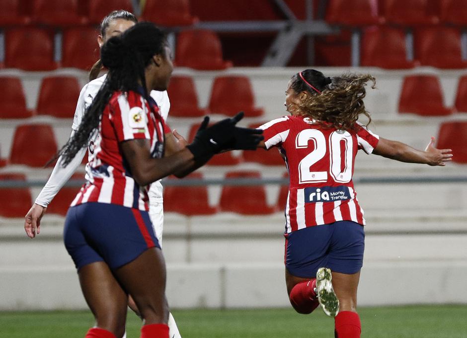 Temp. 2020/21 | Atlético Femenino-Servette | Celebración