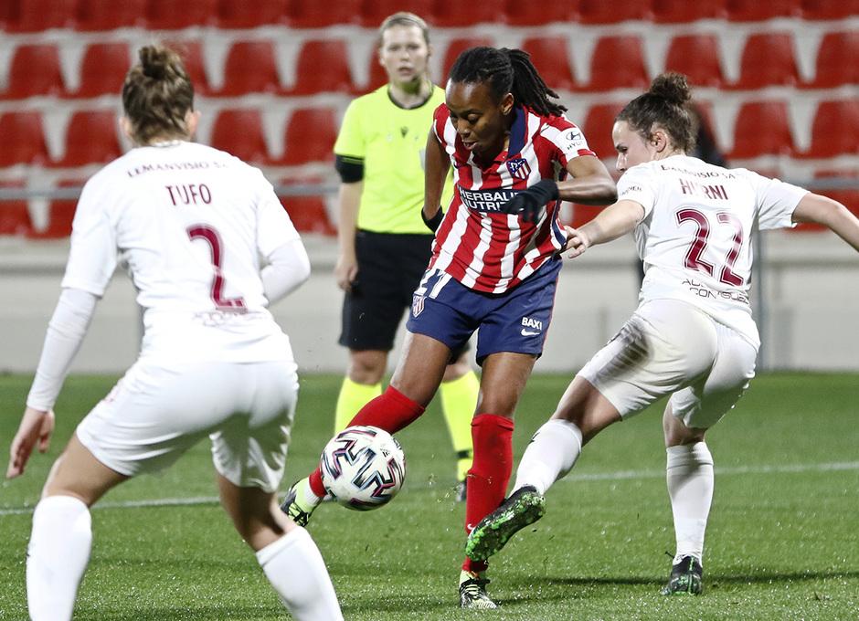 Temp. 2020/21 | Atlético Femenino-Servette | Emelyne