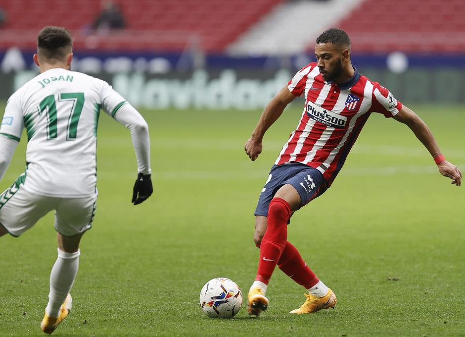 Temporada 2020/21 | Atlético de Madrid - Elche | Renan Lodi