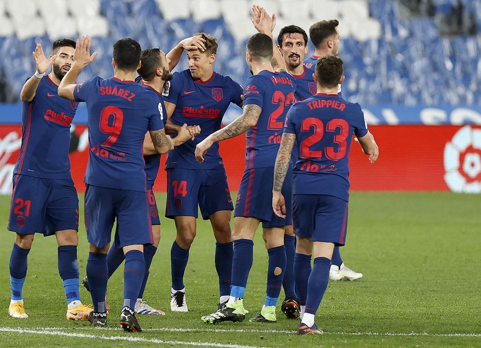 Temp. 20-21 | Real Sociedad - Atlético de Madrid | Gol de Llorente