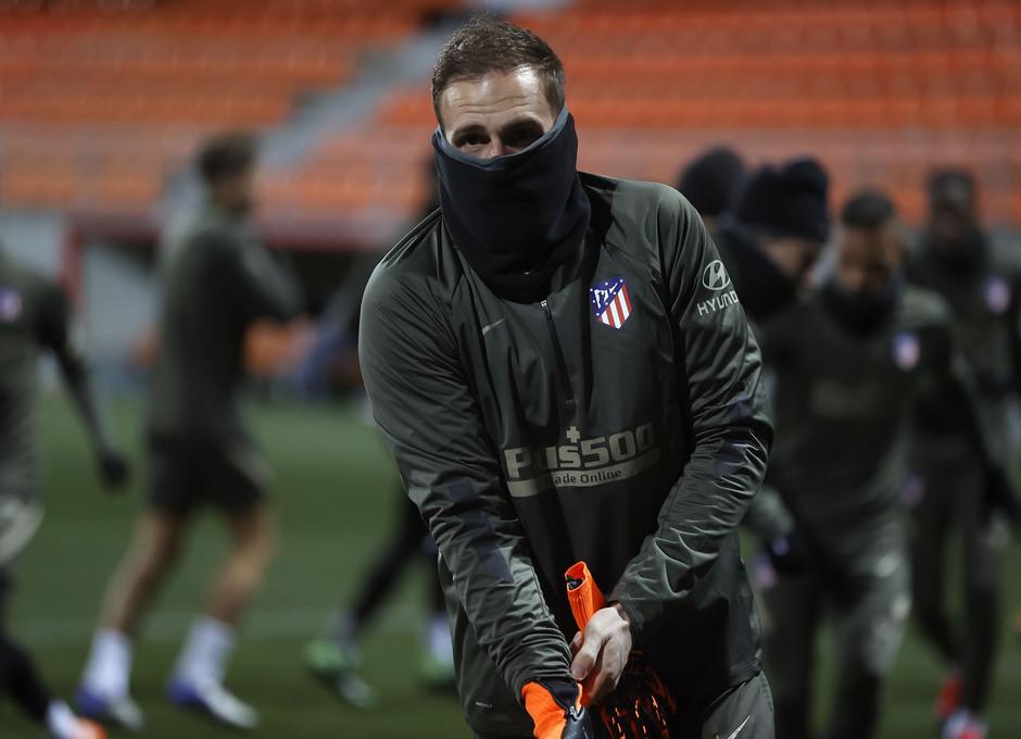 Temp. 20-21 | Primer entrenamiento 1 de enero Atlético de Madrid | Oblak