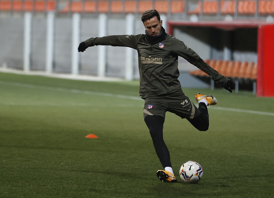 Temp. 20-21 | Primer entrenamiento 1 de enero Atlético de Madrid | Saúl