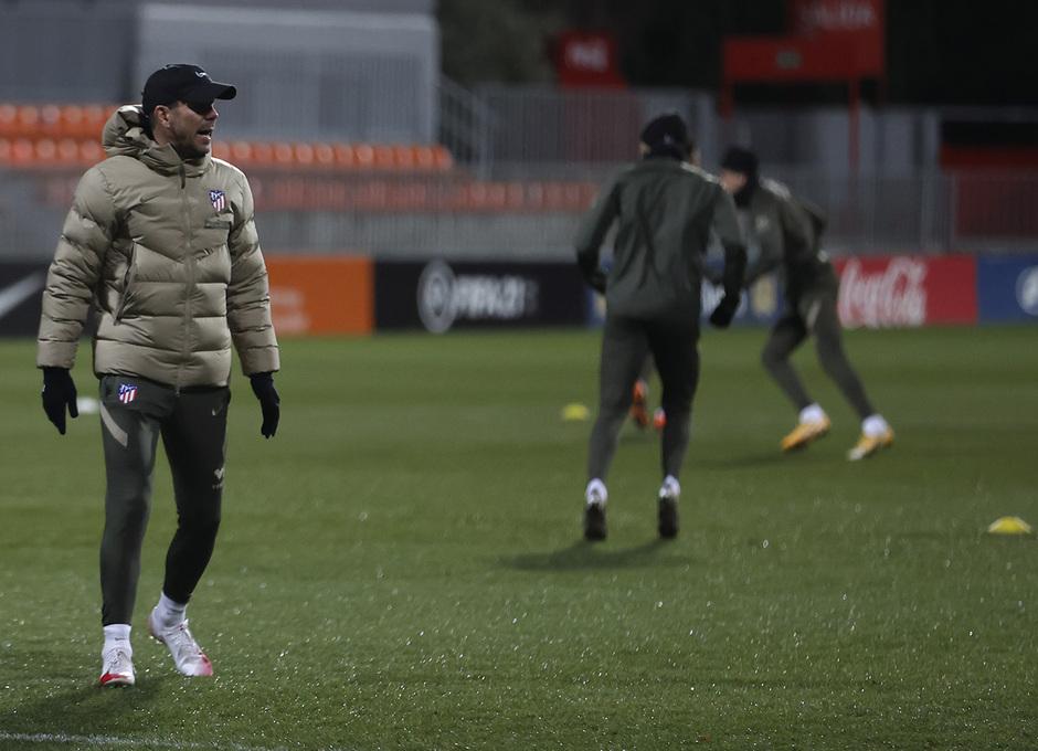 Temp. 20-21 | Primer entrenamiento 1 de enero Atlético de Madrid | Simeone