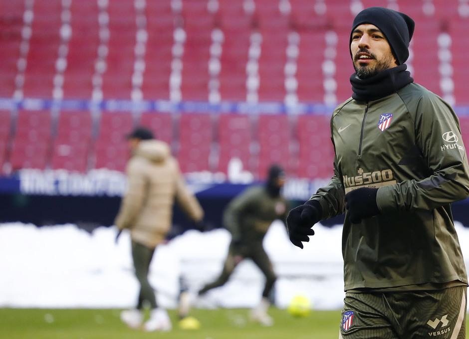 Temp. 20-21 | Entrenamiento en el Wanda Metropolitano | Luis Suárez