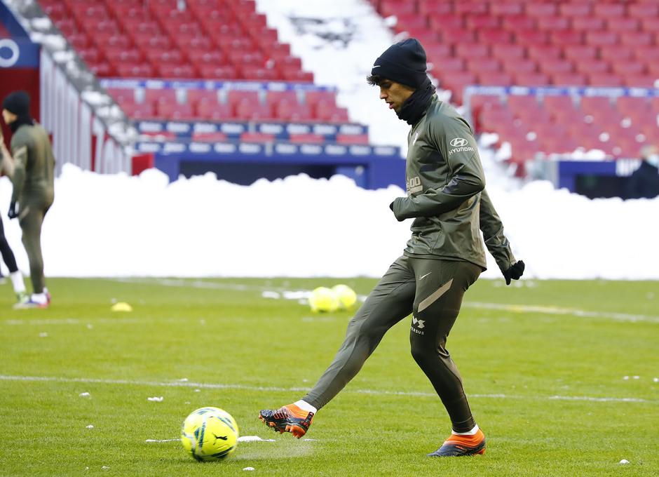 Temp. 20-21 | Entrenamiento en el Wanda Metropolitano | Joao Félix