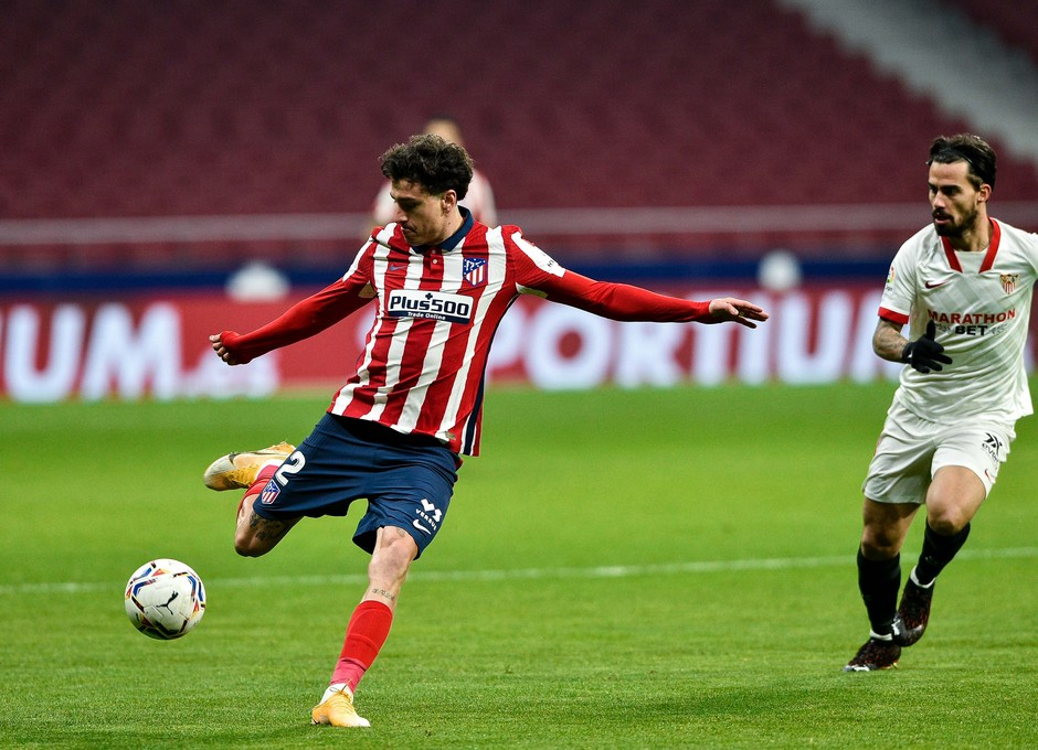 Temporada 20/21 | Atleti - Sevilla | Giménez