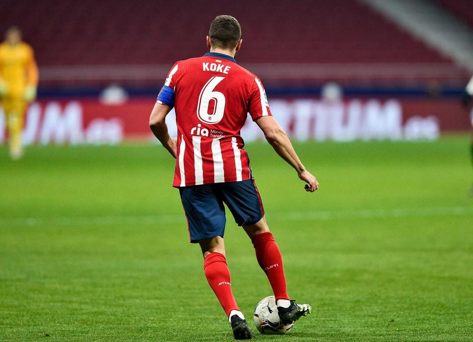 Temporada 20/21 | Atleti - Sevilla | Koke