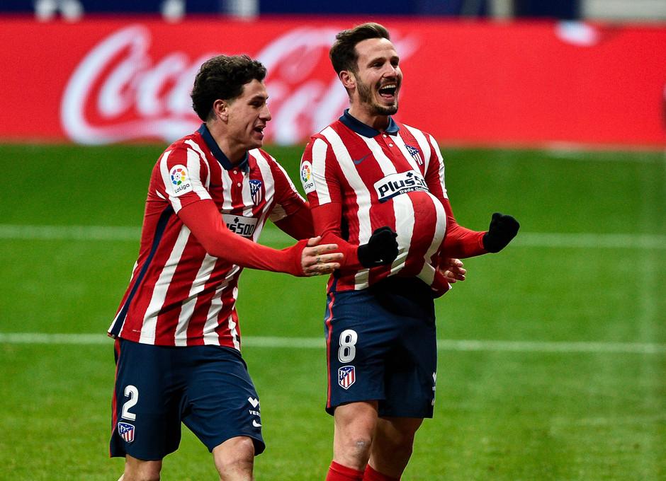 Temporada 20/21 | Atleti - Sevilla | Gol de Saúl