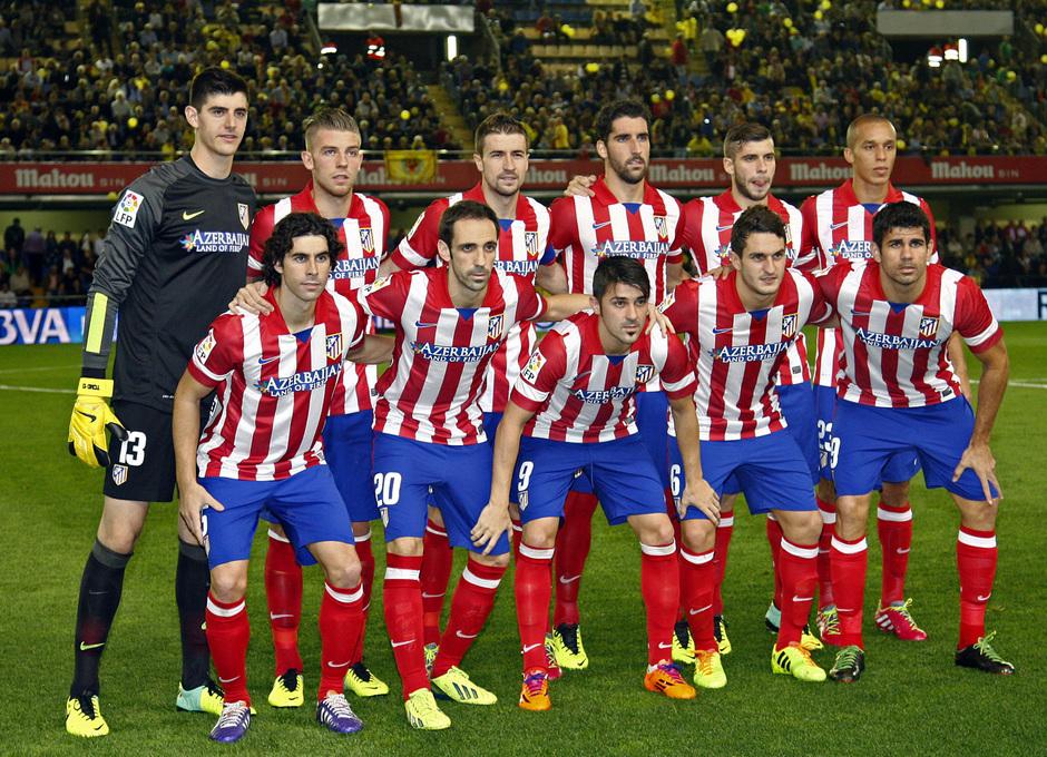 Temporada 13/14 Liga BBVA Villarreal Atleti