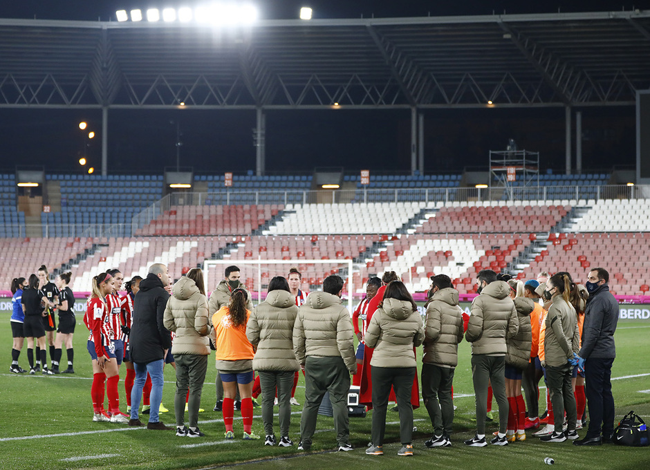 Temporada 20/21 | Supercopa | Atleti - Barcelona | Celebración Merel
