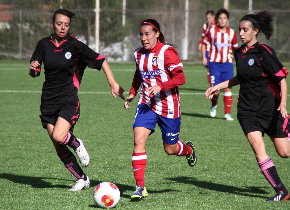 Temporada 2013-2014. Atlético de Madrid Féminas-Levante Las Planas