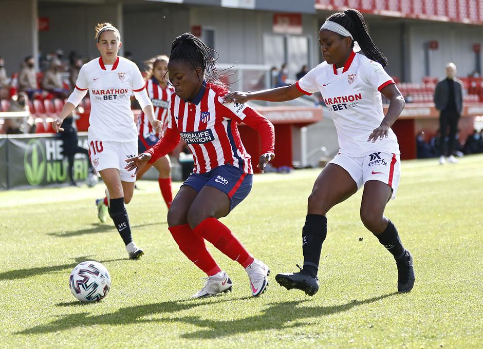 Temp 2020/21 | Atleti Femenino-Sevilla | Kazadi
