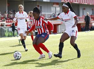 Temp 2020/21   Atleti Femenino-Sevilla   Kazadi
