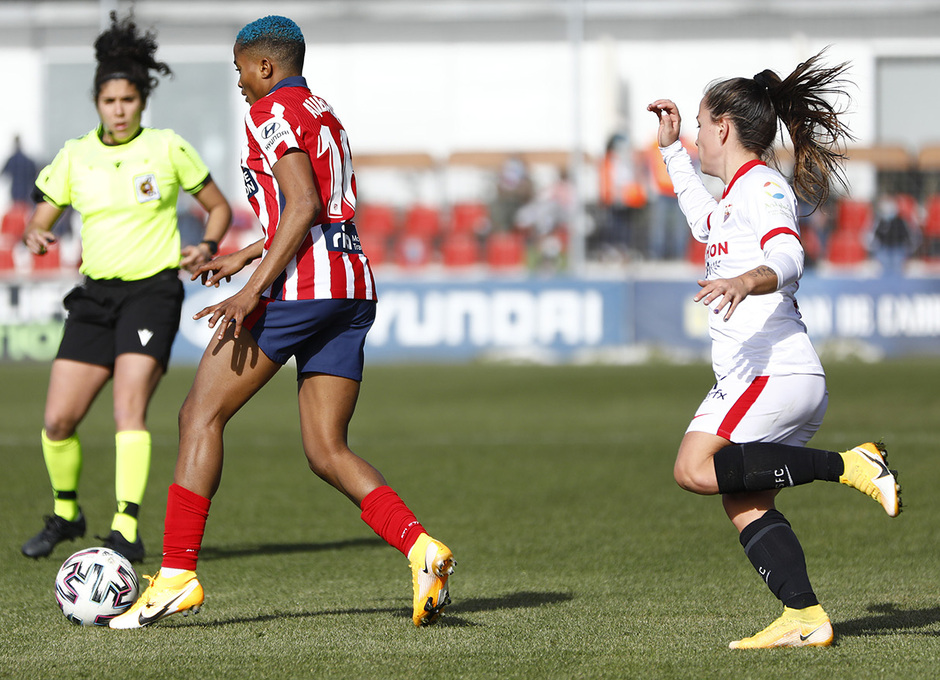 Temp 2020/21 | Atleti Femenino-Sevilla | Ajibade