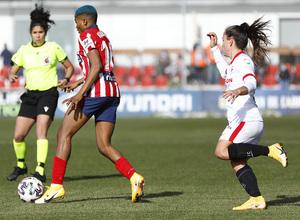 Temp 2020/21   Atleti Femenino-Sevilla   Ajibade