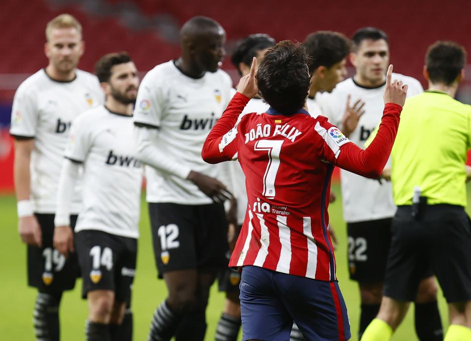 Temp 2020/21 | Atleti - Valencia | Celebración de Joao Félix