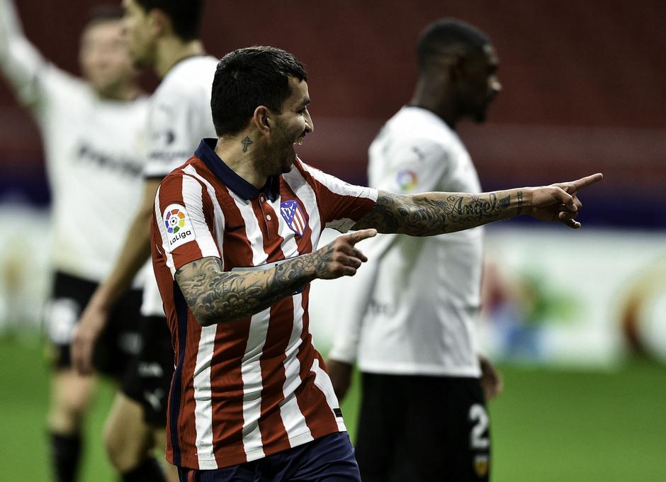 Temp 2020/21   Atleti - Valencia   Correa