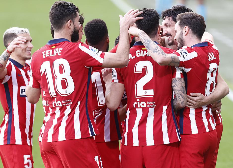 Temp. 20-21 | Cádiz - Atlético de Madrid | Piña celebración